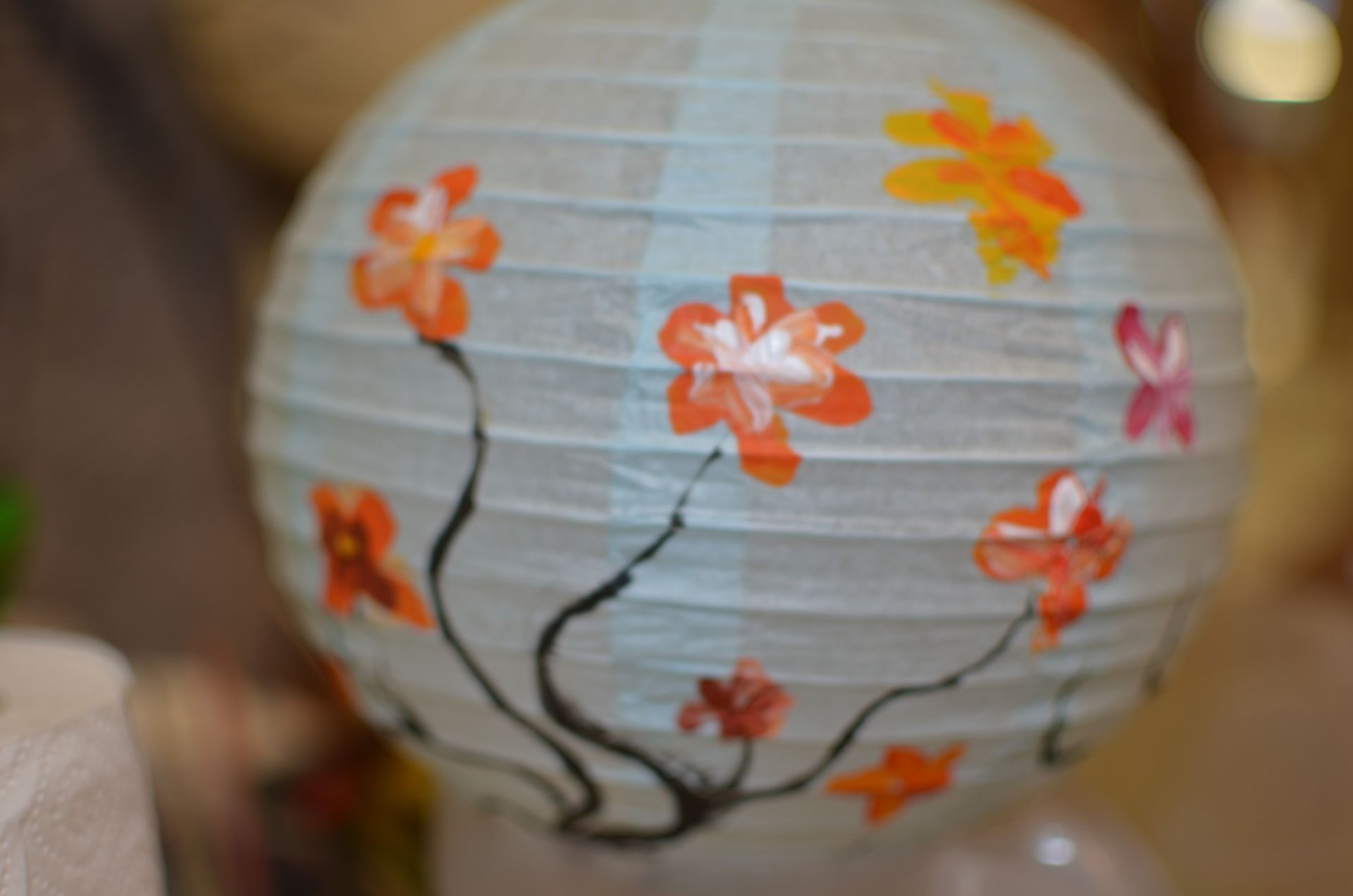 Поделка из китайских фонариков 488