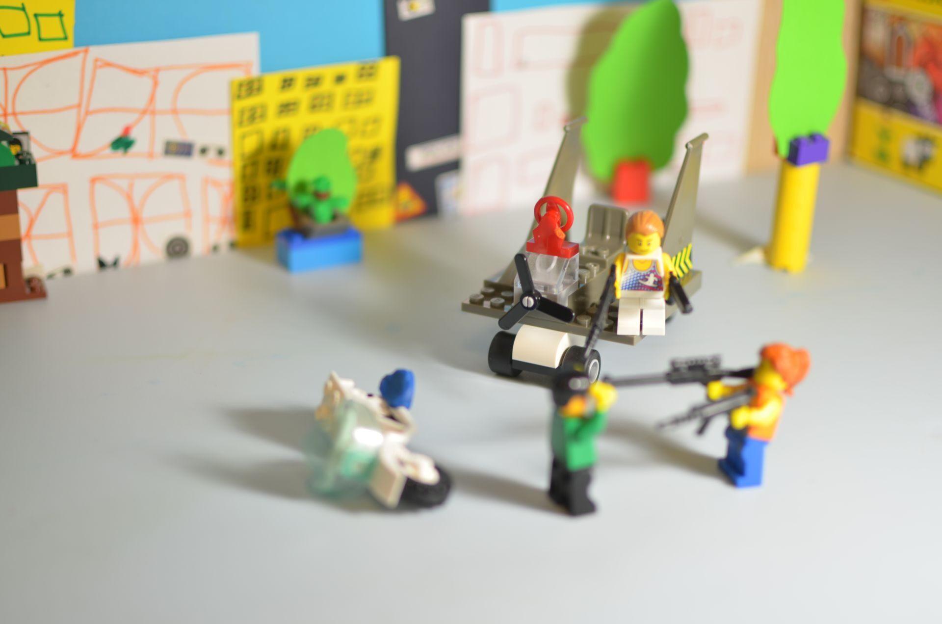 Как сделать мультик из лего на телефон