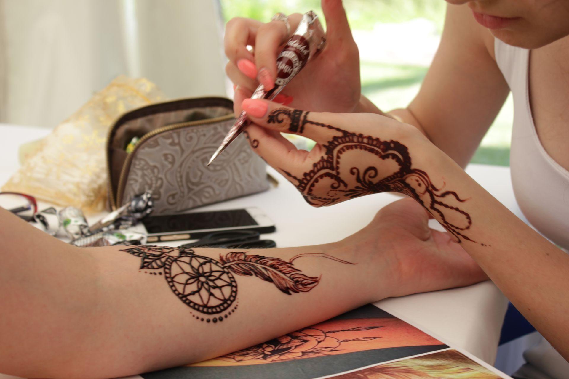 Как сделать татуировку хной фото 220
